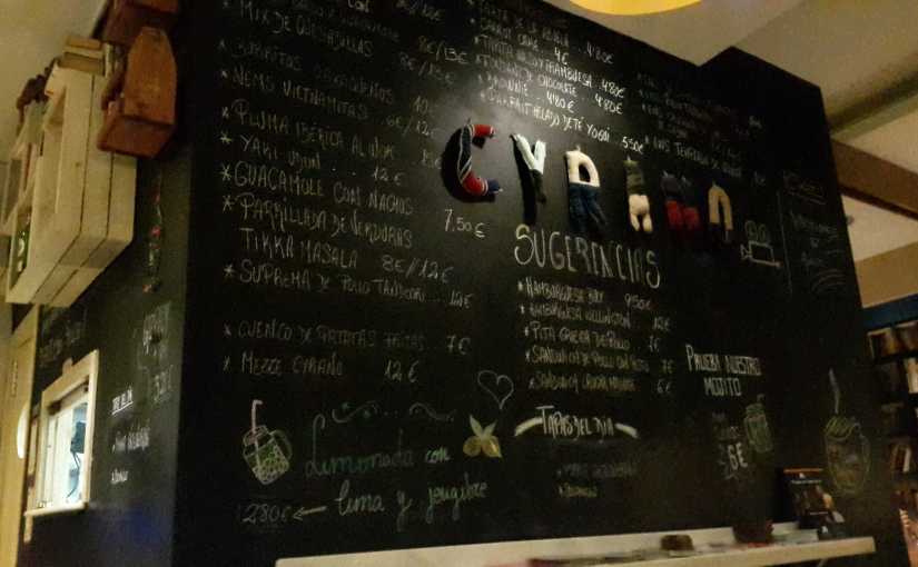 Café Cyrano enAlmería